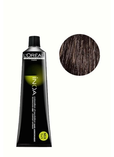 Inoa No:4 Saç Boyası 60 Gr Kahve